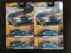 2021 HOT WHEELS FAST  FURIOUS FAST STARS 92 Mustang lot of 4