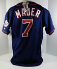 Minnesota Twins Joe Mauer #7 Authentic Navy Jersey Russell Athletic NWT 52 867