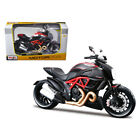 Ducati Diavel Red and Carbon 1 12 Diecast Motorcycle Model by Maisto 31196