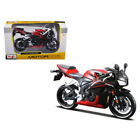 Honda CBR 600RR Red and Black 1 12 Diecast Motorcycle Model by Maisto 31154r