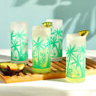 Libbey Vintage Palm Trees Cooler Glasses 16 ounce Set of 4