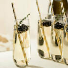 Libbey Stemless Champagne Flute Glasses Set of 12