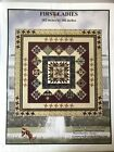 Block Of The Month Quilt Pattern NIP complete FIRST LADIES Common Threads
