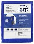 TRA 1228 All Purpose Poly Tarp Blue 12 x 28 Foot 1 Pack