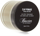Baxter of California Clay Pomade Matte Finish Strong Hold Hair Pomade for Men