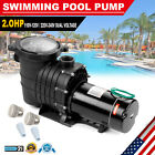 2HP Swimming Pool Pump Motor For Hayward Strainer In Above Ground 115 230V