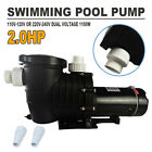 2HP Swimming Pool Pump Motor For Hayward w Strainer 115 230V In Above Ground