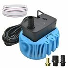 Pool Cover Pump Above Ground Sump Pumps 850GPH Water Removal With 3 Blue