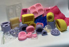 Huge Soap Making Business Mold Mould Lot Silicone Plastic Food Crystals Flower