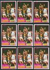1981-82 TOPPS BASKETBALL NEAR COMPLETE (189 198) CARDS VG LOT OF 15 SETS!