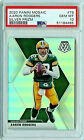 Aaron Rodgers Mosaic Silver Prizm PSA 10 POP 4 Great Collectors Card!! PACKERS