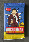 SEALED Anchorman Trading Cards Pack - 2010 Dreamworks - Will Ferrell