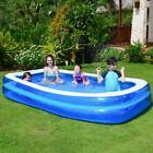Large Family Swimming Pool Outdoor Summer Inflatable Kids Paddling Pools