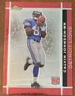 Top Calvin Johnson Rookie Cards to Collect 32
