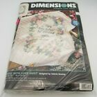 Dimensions Stamped Cross Stitch Kit 3208 Blessed with Love Valerie Greeley Quilt
