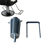 Silver Barber Salon Chair Hydraulic Pump Replacement Lift Cylinder 4 Screw