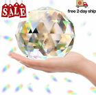Clear Glass Crystal Ball Prisms Window Rainbow Maker Sphere 120mm 472in