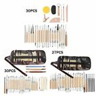 Pottery Clay Tools Set DIY Ceramic Arts Silicone Indentation Polymer Carving Pen
