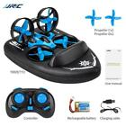 JJRC H36F RC Drone Boat Car 6 Axis Land Water Air 360 Flips Toy Gift Vehicle
