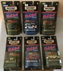 1999 DARE Matchbox Collectibles Complete Set 6 DARE POLICE CARS New Jersey