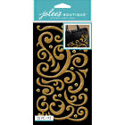 6 Pack Jolees Boutique Stickers Gold Puffy Flourish  Gems E5030180