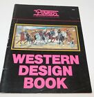 Powers WESTERN DESIGN Stained Glass Pattern Book Remington OCSeltzer Patterns