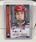 2014 ITG Draft Prospects Hockey Clear Rookie Redemption Set Announced 8