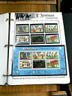 White Ace Christmas on Postage Stamps Worldwide over 260 Stamps and Sheets