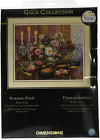 Dimensions Gold Collection Counted Cross Stitch Kit Romantic Floral 14 Count x