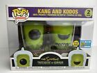 Funko Pop! Simpsons Treehouse of Horror Kang and Kodos 2019 SDCC Exclusive GITD
