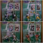 1997 Kenner Starting Lineup Football Classic Doubles Complete Set Of 8 Mint Cond