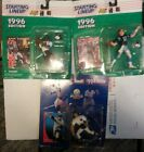 Starting Lineup Mark Carrier Panthers Figure 1996 Edition + more 3 total