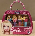 BARBIE LIMITED EDITION 2012 PEZ TIN PURSE 4 DISPENSERS With CANDY GIFT SET NEW
