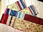 The Log Cabin Quilt Fabric Collection RJR Vintage Reproduction Quilt Shelburne