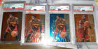 (4) 2012-13 KYRIE IRVING RC ROOKIE SELECT HOT STARS #7 PSA 9 MINT LOT OF FOUR