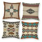 Throw Pillow Covers Set of 4Southwestern American Native Pattern Pillow