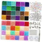 35000pcs 2mm 12 0 Glass Seed Beads for Jewelry Making Supplies Kit Small Bead