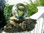 Mysterious JOSH SIMPSON PLANET PAPERWEIGHT Multi Bubble Trail 3 Signed1984