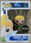 Tinker Bell Funko Pop Peter Pan 10 Hot Topic 25th Anniversary Glitter Exclusive