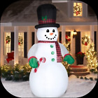 10ft Snowman Inflatable Delightful Christmas Outdoor Decoration