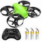 Upgraded A20 Mini Drone Easy to Fly Drone for Kids and Beginners Indoor Green