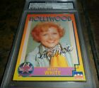BETTY WHITE Golden Girls Signed 1991 Starline HOLLYWOOD Card AUTOGRAPH PSA DNA