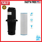 200 sq ft In Ground Easy Clean Pool Cartridge Filter with Tank Pool Filter