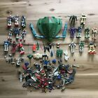 Lot of 13 Various 45 Gundam Mobile Suit Figures With Tons of Weapons Read