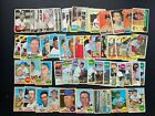 1960 to 1969 Topps Baseball lot 60 assorted cards POOR to FAIR