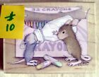 HOUSE MOUSE MOUNTED RUBBER STAMP 2003 BOTTLE TIME MINT NEVER USED  10