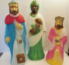 Empire Christmas Nativity Blow Mold 3 Wise Men Lighted 23 Tall Small Set