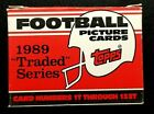 1989 Topps Traded Football Cards 10