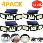 outdoor christmas decorations yard 12Ps Solar Candy Canes Lights Christmas Decor