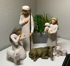 Willow Tree Nativity sculpted hand painted nativity figures set 6 pieces 26005
